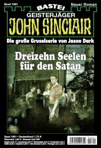 """Neu: John Sinclair – Band 1851: """"Dreizehn Seelen für den Satan"""""""